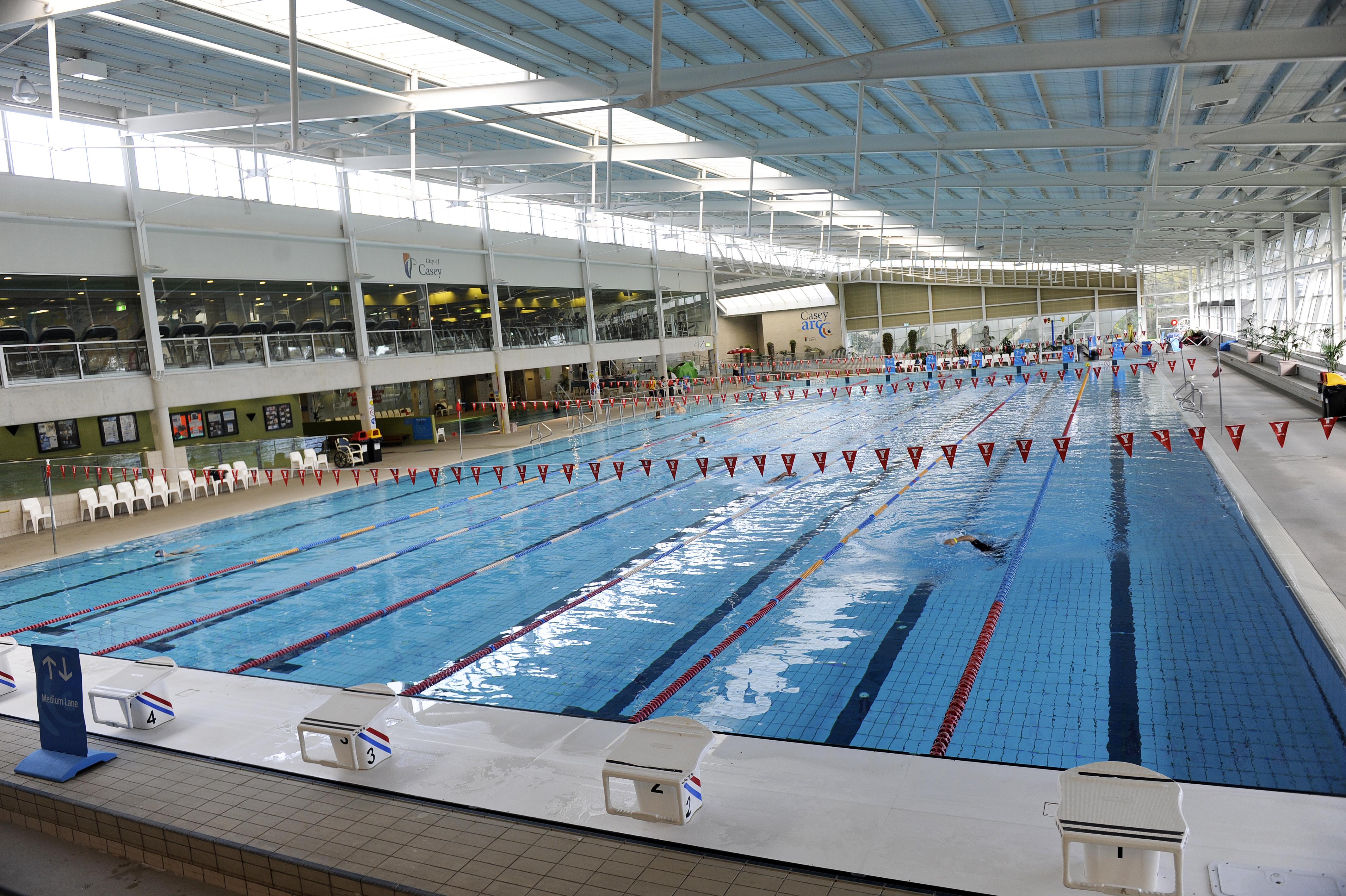 Casey ARC 50 metre pool