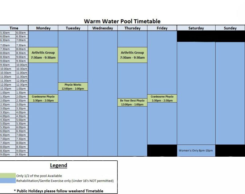 Warmwaterpooltimetable1