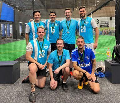 Indoor soccer team1
