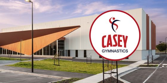 Casey Gymnastics Stadium Banner