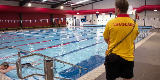 Lifeguards And Swimmer Baw Baw