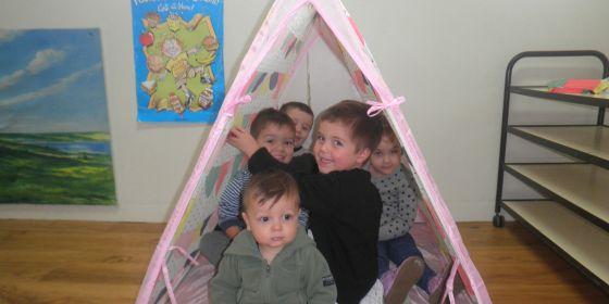 Arc Cc Kids In Tent