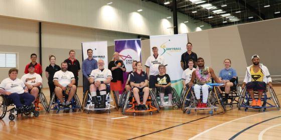 Wheelchair Softball