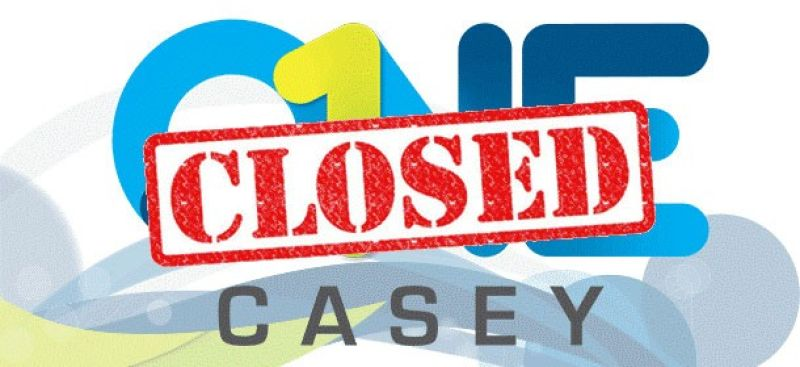 ONE Casey Email Header Closed