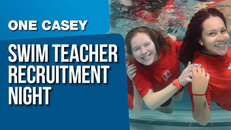 Casey Arc Swim Teacher Recruitment Night Social Media Images