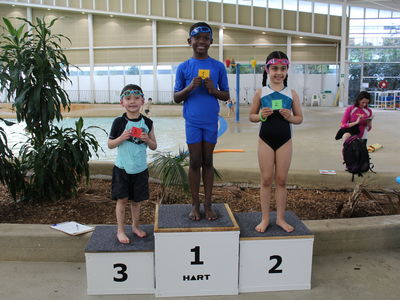 Kids on Podium