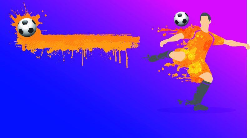 Indoor Soccer Background Landscape