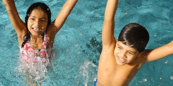 Kids Playing Water