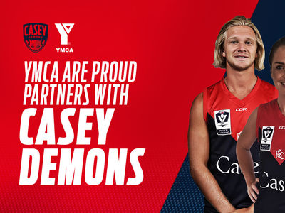 Casey Demons and YMCA in partnership